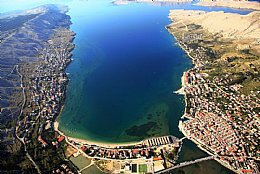 Mandre, island of Pag