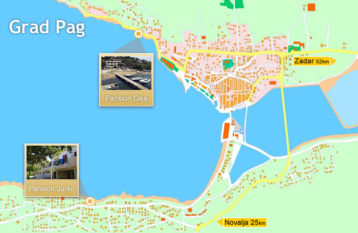 City of Pag (Map)